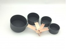 Set of 4's Stainless Steel Measuring Cups