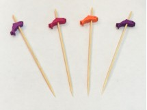 Wooden Party Picks 12